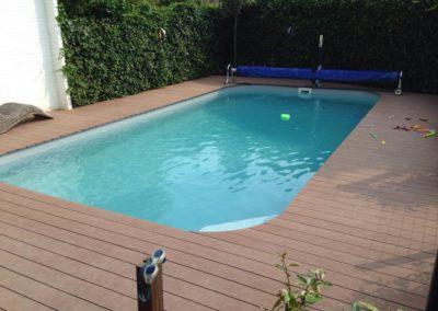Zwembad en vijver